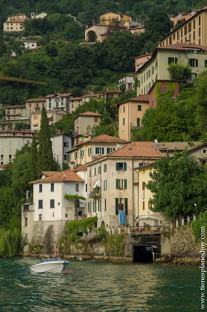 Barco Lago di Como Italia