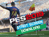 PES 2017 Start Screen Like PES 2019 dari Luca19