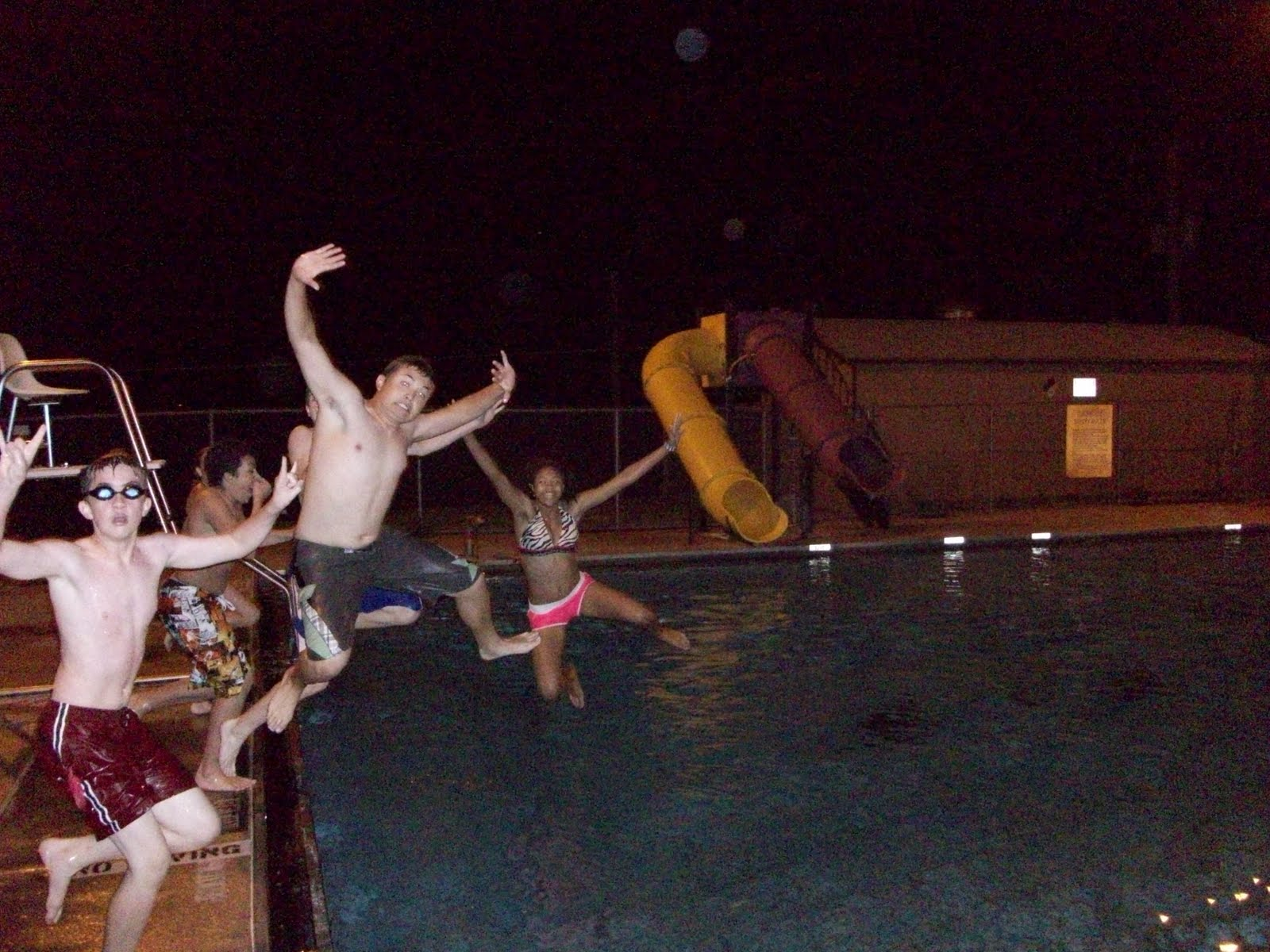 The Galloways Jacob S 13th Birthday Party Base Pool Offutt