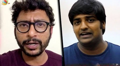Comedians RJ Balaji, Sathish's serious fight in real life