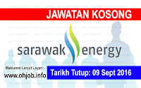 Jawatan Kerja Kosong Sarawak Energy logo www.ohjob.info september 2016