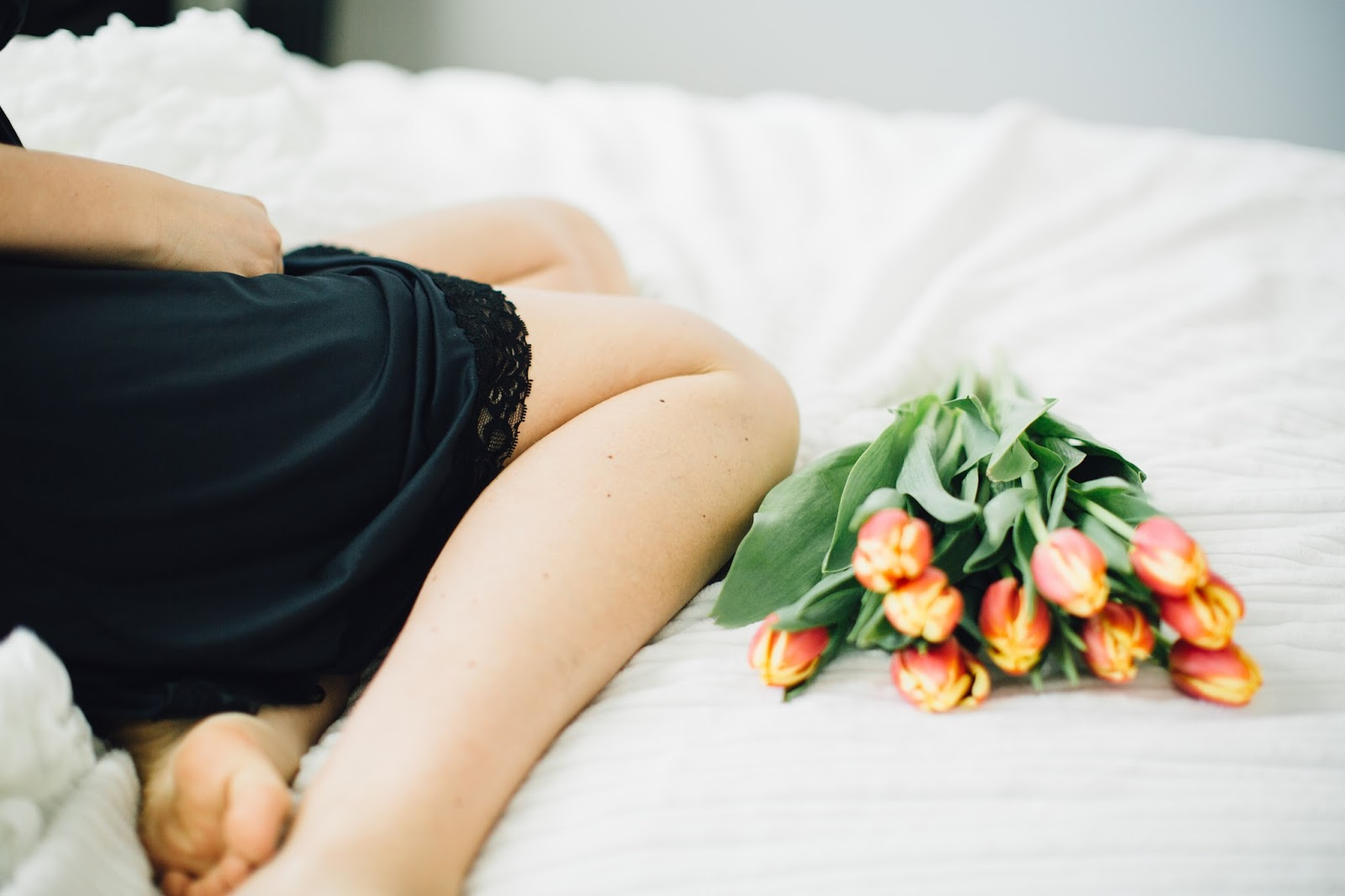 Tulips, Lingerie, Nursing Lingerie