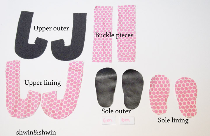Felt Baby Shoes Pattern Pdf