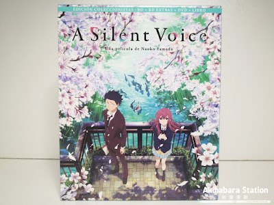 Anime: Review de la edición Blu-Ray coleccionista de A Silent Voice (Koe no Katachi 聲の形) - @selectavision