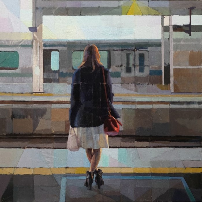 Японский художник. Hiroshi Sato