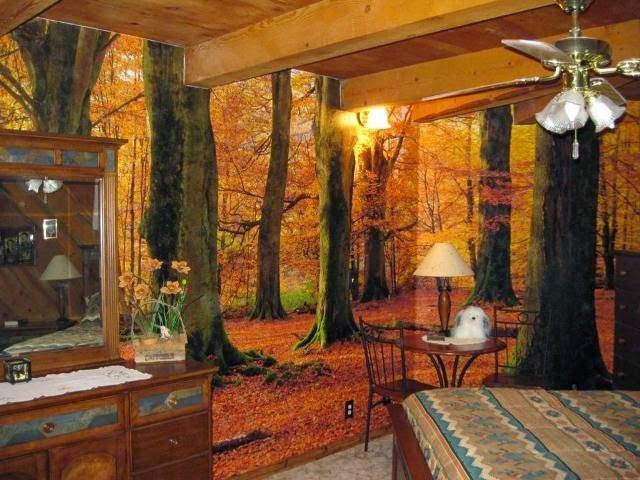 paint a wall mural in home