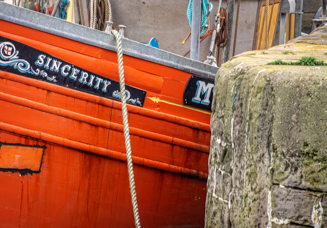Photo of Sincerity in Maryport Harbour