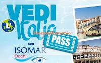 Logo Vedi l'Italia con Isomar occhi e ricevi sempre voucher Italy Hotel Pass