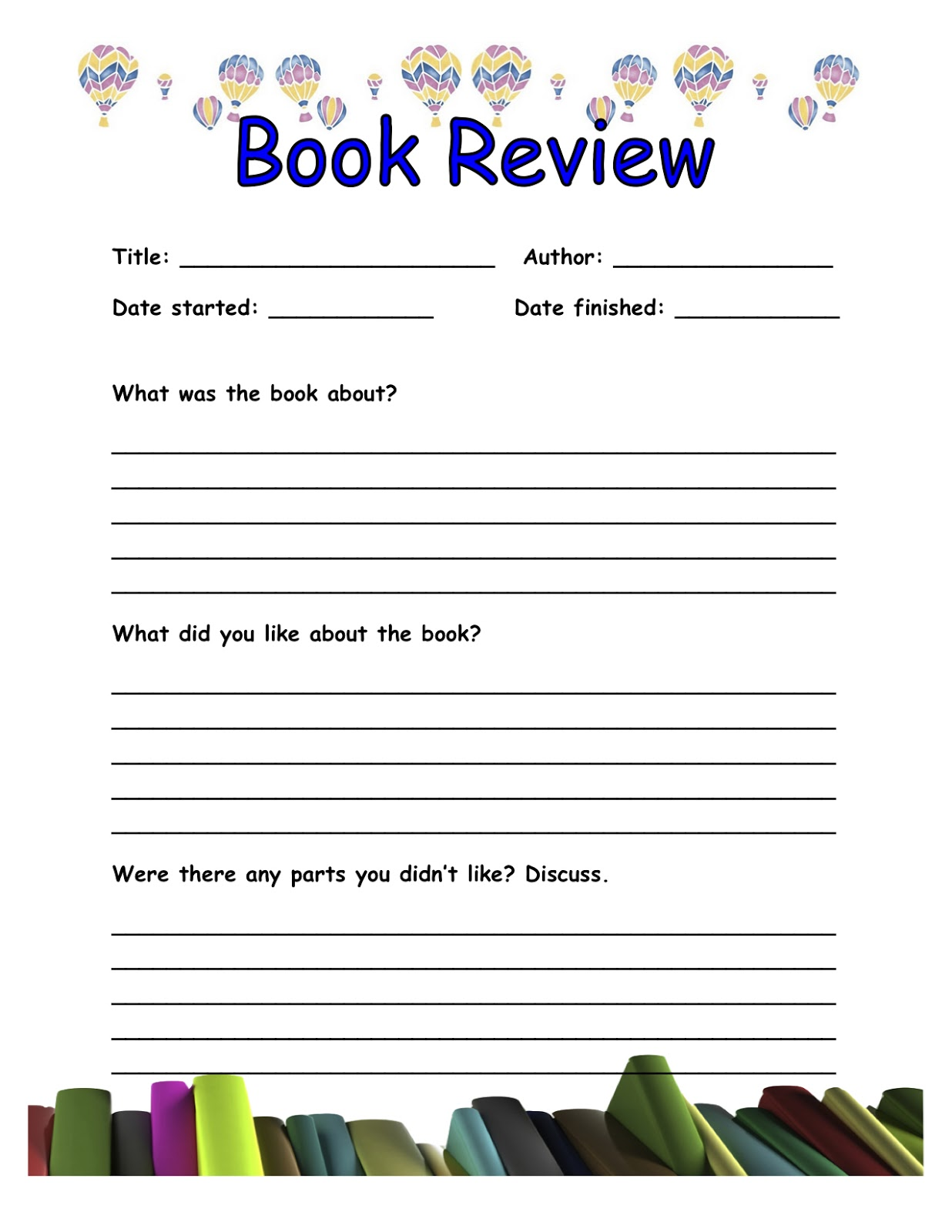 Quiet Book Templates