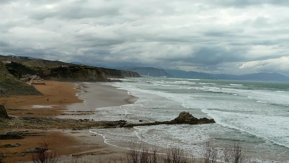 lluvia viento noroeste sopelana playa