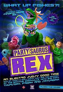 Desene Cu Jucării Rex Regele Petrecerii – Partysaurus Rex