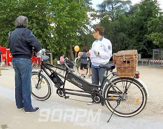 Un tandem al cyclopride day di Milano
