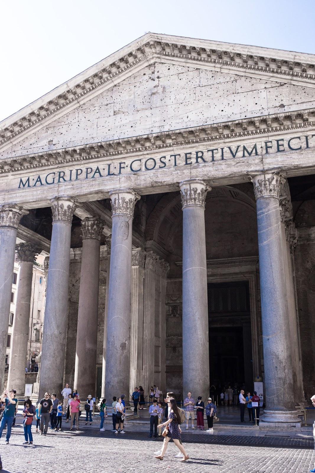 Rome, weekend rome, avis, blogueuse mode, pantheon