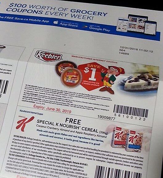 Free Product Cereal Coupon