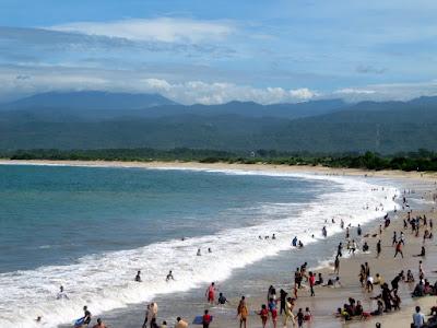 pantai santolo objek wisata pantai di garut