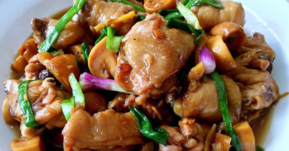 Stir-Fried Chicken with Ginger and Scallions by Rachel Leong