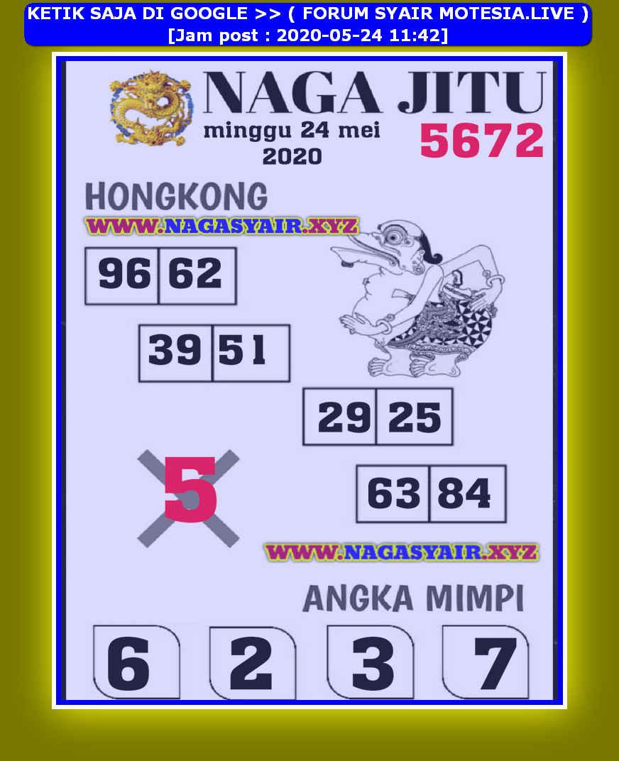 Kode syair Hongkong Minggu 24 Mei 2020 167