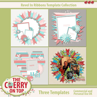 Revel In Ribbons Templates