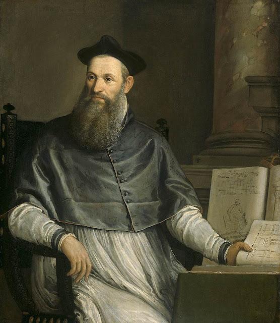 Portrait of Daniele Barbaro by Veronese, 1561-65, Rijksmuseum