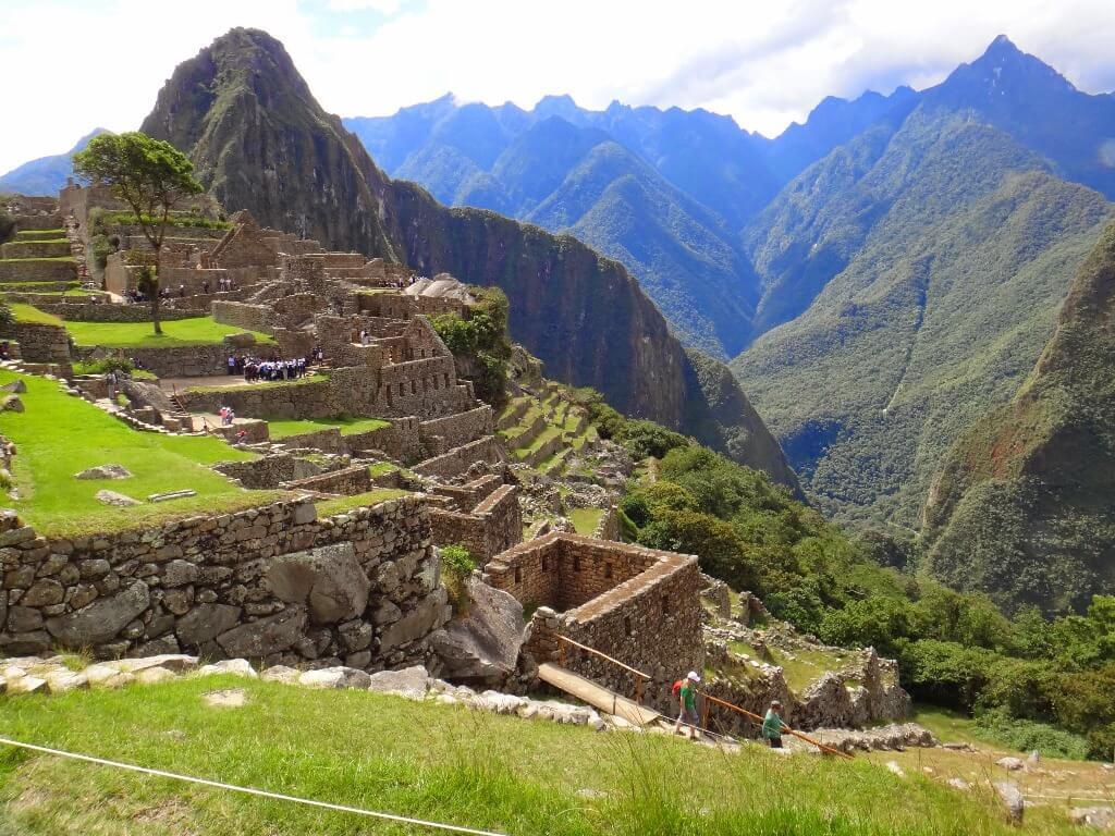 Machu Picchu no Peru