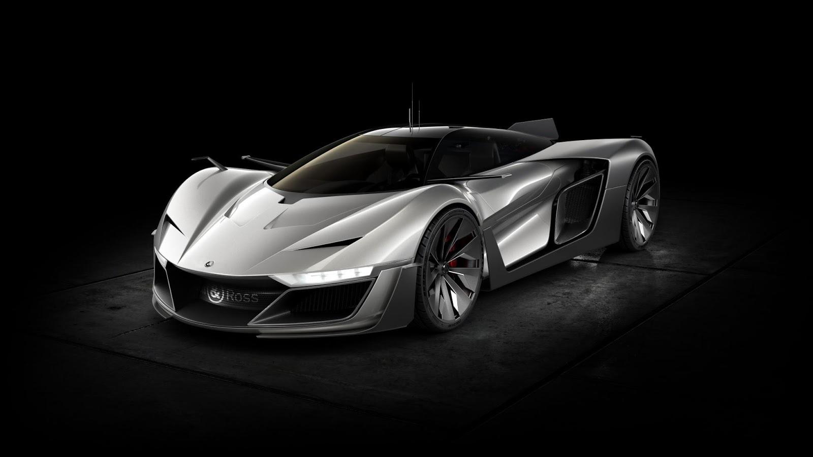 Siêu xe Aero GT Concept 610 mã lực được thiết kế bởi thợ sửa đồng hồ