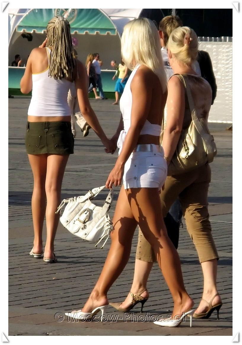 Russian Blonde and Hot Summer