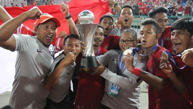 Timnas U-22 Menjuari Piala AFF Dan Akan Direncanakan Diarak Besok 2019