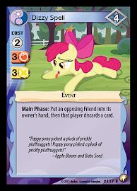 MLP Dizzy Spell Equestrian Odysseys CCG Card