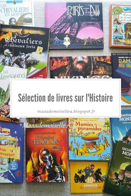 || Sélection de livres sur l'Histoire (Et dans leur bibliothèque il y a... # 11)
