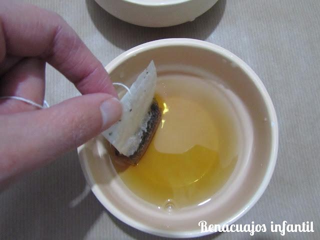 Arte con té