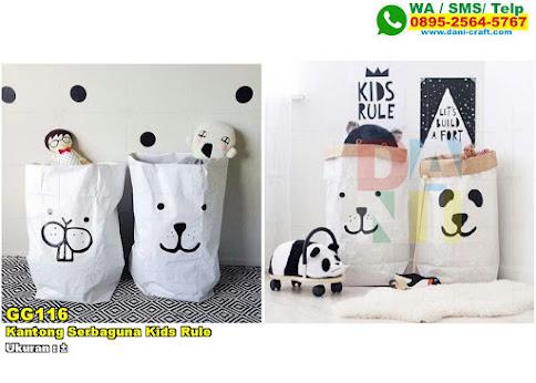 Kantong Serbaguna Kids Rule