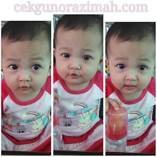 dhia zahra, bayi 10 bulan, perkembangan anak 10 bulan