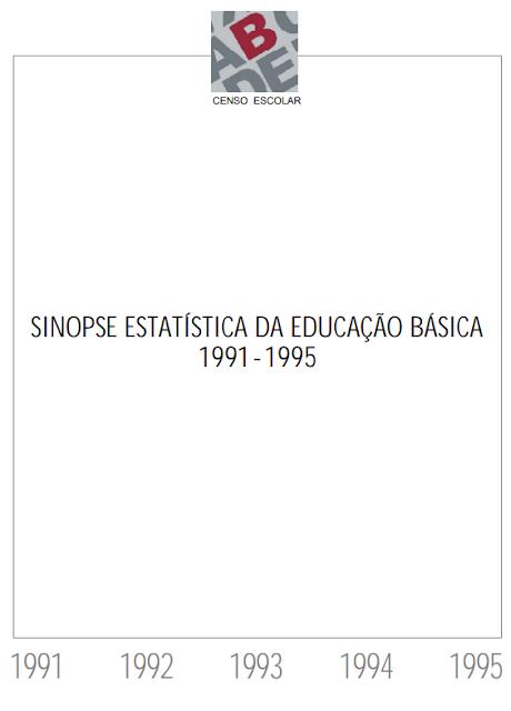 A Educação no Brasil na década de 90 - Ministério da Educação