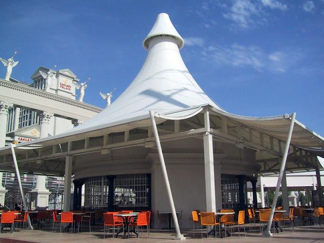 tenda membrane kerucut