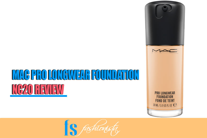 MAC Pro Longwear Foundation NC20 Review