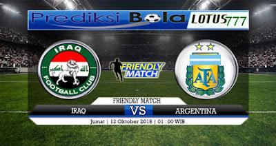 PREDIKSI IRAQ VS ARGENTINA 12 OKTOBER 2018