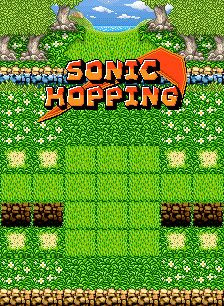 Sonic Hopping 240x320 game ponsel Java jar