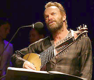 Sting with beard