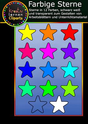 Erstelle Unterrichtsmaterial und Arbeitsblätter mit diesen Sternen gratis für deine Schüler