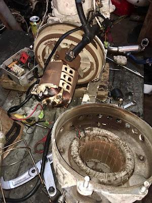 rotor and stator Paguro P4000 generator