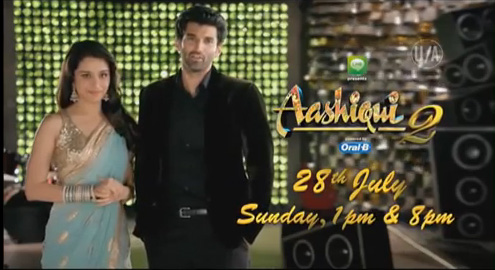 World Television Premier Aashiqui 2 on  sony Entertainment Channel