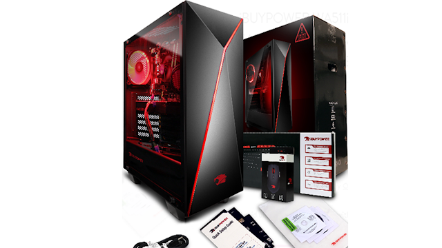 Spesifikasi iBUYPOWER WA511i Gaming Desktop PC
