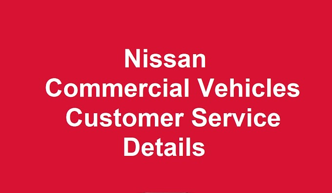 Nissan Commercial Vehicles Customer Service Number