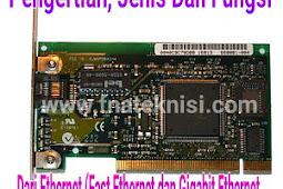 Pengertian, Jenis Dan Fungsi Dari Ethernet (Fast Ethernet Dan Gigabit Ethernet)