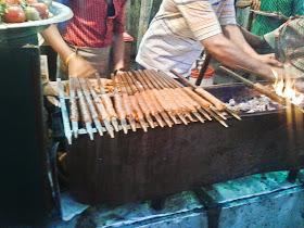 Foodaholix Jama Masjid Qureshi Seekh kabab