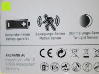 Hersteller: ANSMANN Guide Free Motion LED-Orientierungslicht mit integriertem Dämmerungssensor und Bewegungsmelder Kind Baby Senioren mobil universal