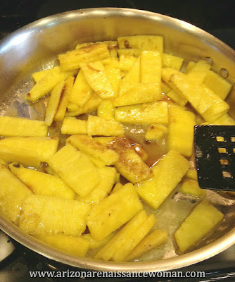 Pineapple Filling for Tacos with Coconut-Ricotta Pancake Shells, Mango-Kiwi Salsa, and Whipped Cream