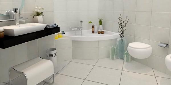 Dise o de cuarto de ba o peque o colores en casa - Como disenar un cuarto de bano pequeno ...
