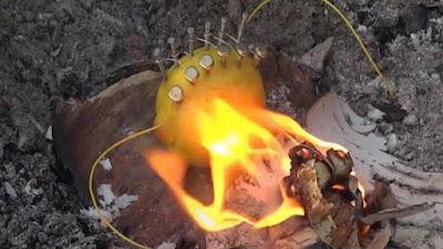 Πώς να ανάψετε φωτιά με ένα λεμόνι!