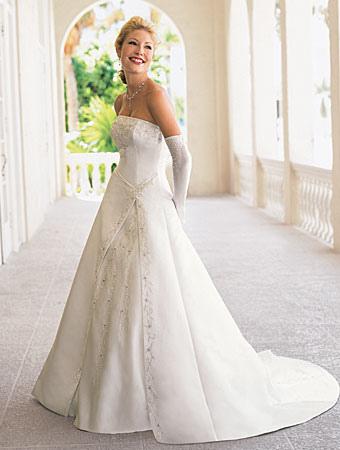 jessica simpson wedding dress